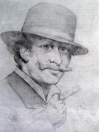 Self-Portrait by André Gill, 1883