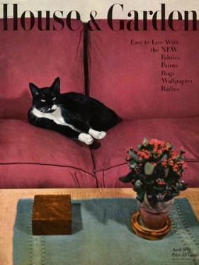 House & Garden Cover - April 1946 by André Kertész