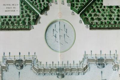 Design for the Piece De Neptune at Versailles