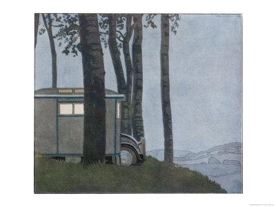 Caravan at Nightfall