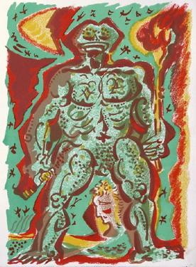 Personnage by André Masson