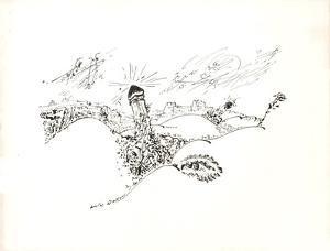 Terre Érotique IX by André Masson