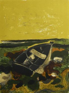La Barque Echouee by Andre Minaux