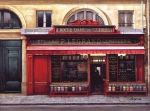Epicerie P. Legrand Confiserie by Andre Renoux