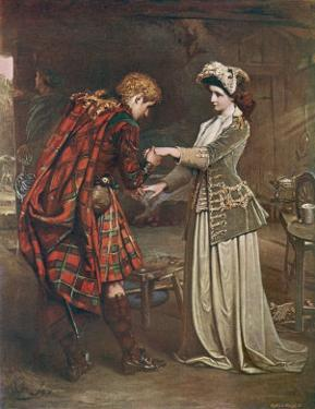Prince Charles Edward Stuart Bids Farewell to Flora Macdonald Who Aided His Escape by Andre & Sleigh