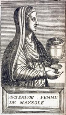 Portrait of Artemisia, Queen of Cara by Andre Thevet