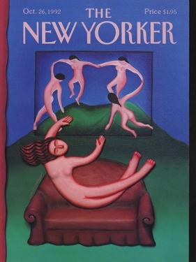 The New Yorker Cover - October 26, 1992 by Andrea Arroyo