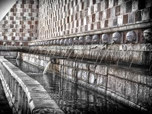 The Fountain with the 99 Spouts by Andrea Costantini