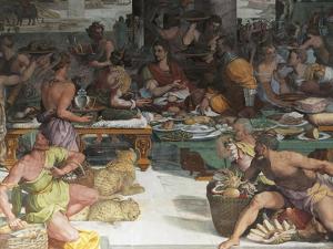 Julius Caesar Receiving the Tax of Egypt by Andrea del Sarto
