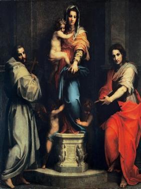 Madonna of the Harpies by Andrea del Sarto