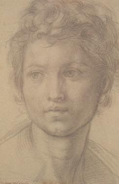 Study for San Giovanni by Andrea del Sarto