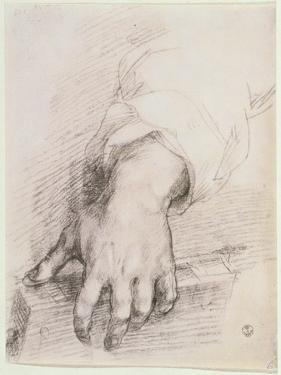 Study of a Hand For the Madonna of the Harp by Andrea del Sarto