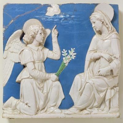 The Annunciation by Andrea Della Robbia