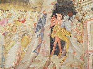Detail from 'The Descent from the Cross', Capellone Degli Spagnoli, 1365-67 by Andrea Di Bonaiuto