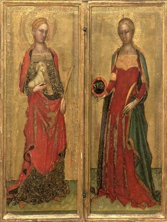 St. Agnes and St. Domitilla