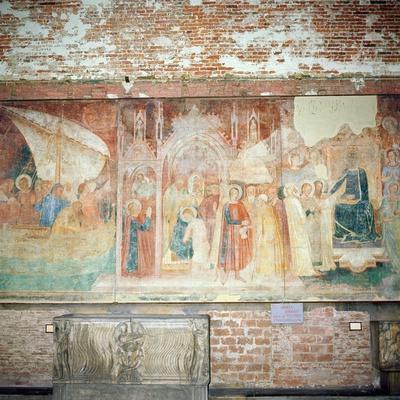 St Ranieri in the Holy Land, Mid 14th Century
