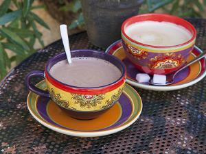 Cocoa in Coloured Cup by Andrea Haase