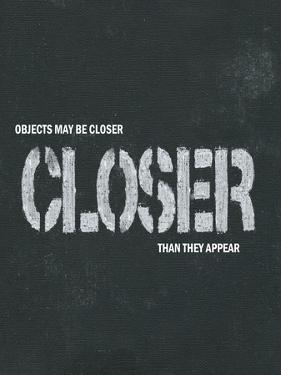 Objects May Be Closer I by Andrea James