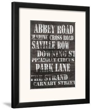 Streets of London I by Andrea James