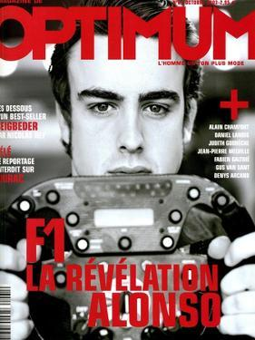L'Optimum, October 2003 - Fernando Alonso by Andrea Klarin
