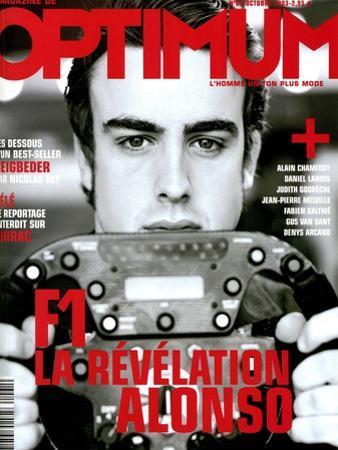 L'Optimum, October 2003 - Fernando Alonso by Andrea Klarin