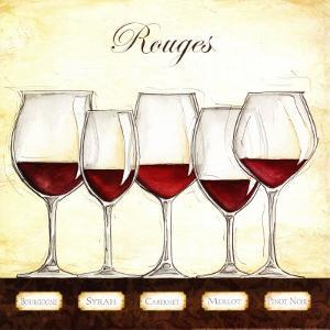Les Vins Rouges by Andrea Laliberte