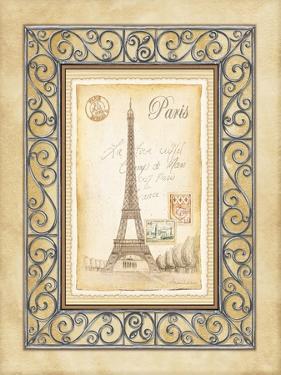 Paris Postcard by Andrea Laliberte