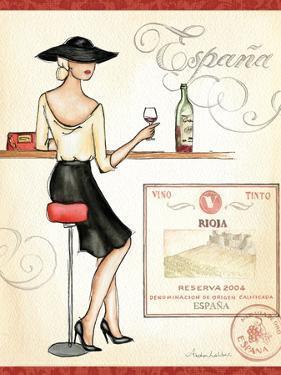 Wine Event I by Andrea Laliberte