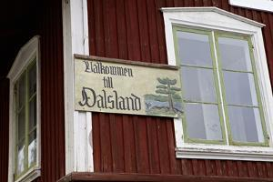 Old house at the Dalsland Canal, by Lelång Lake, Dalsland, Sweden by Andrea Lang