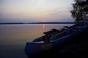 Sundown, Lelång Lake, Dalsland, Sweden by Andrea Lang
