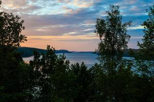 Sundown, Stora Le, near Ed, Dalsland, Götaland, Sweden by Andrea Lang
