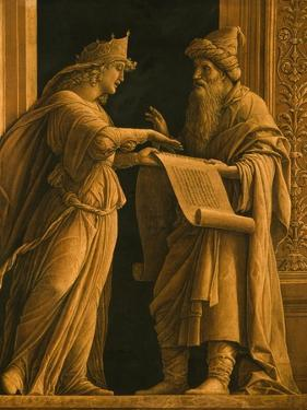 A Sibyl and a Prophet, C.1495 by Andrea Mantegna