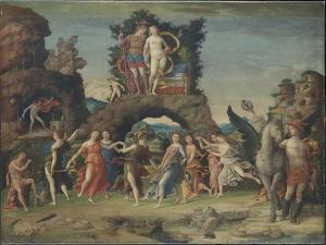 Parnassus (Mars and Venu), C. 1497 by Andrea Mantegna
