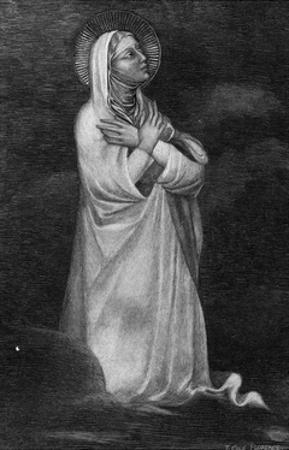 Mary, in Prayer