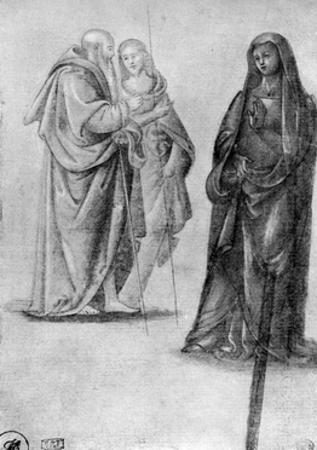 Studies of Saints, Attributed to Orcagna, 1913