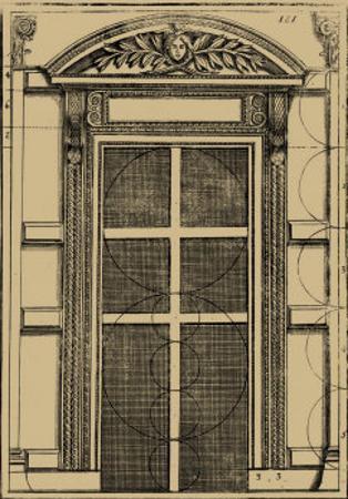 Palladian Door by Andrea Palladio