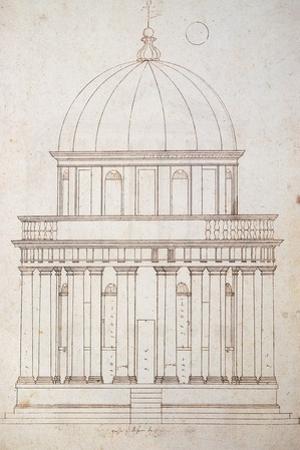 San Pietro in Montorio. the Tempietto Built by Donato Bramante (1444-1514). Drawing by Andrea Palla by Andrea Palladio