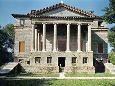 View of the Principal Facade, Built in 1559-60 by Andrea Palladio