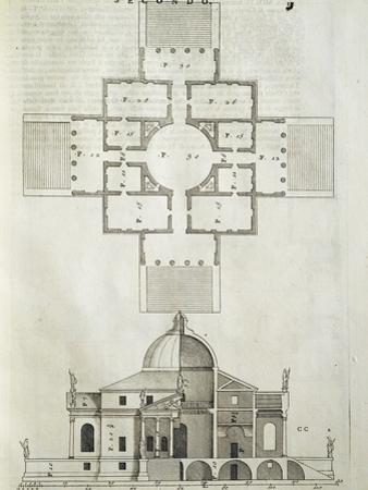 Villa La Rotunda, 1570 by Andrea Palladio