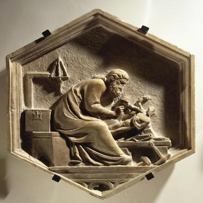 Fidia Carving a Sculpture, 1334-1336