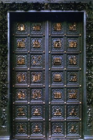South Door of the Baptistry of San Giovanni, 1336