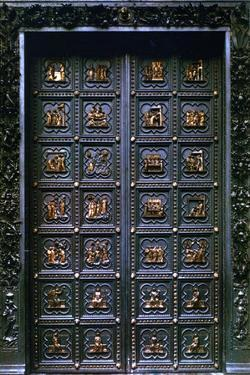 South Door of the Baptistry of San Giovanni, 1336 by Andrea Pisano