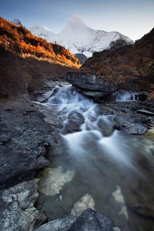 China , Sichuan , Secret Mount Yangmaiyong in Yading Nature Reserve, Sichuan Region, China.