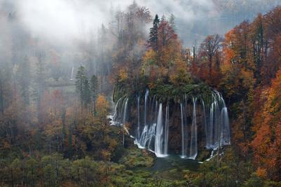 Croatia, the Incredible Autumn Colours and Waterfalls of Plitvice National Park.
