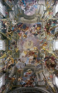 Glory of St. Ignatius by Andrea Pozzo