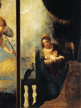 Virgin of Annunciation, Detail from Annunciation