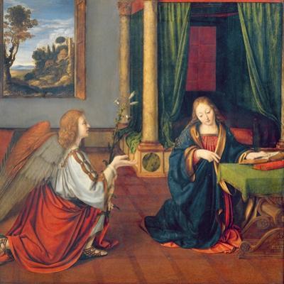 The Annunciation, 1506 by Andrea Solario