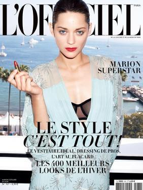 L'Officiel, August 2009 - Marion Cotillard by Andrea Spotorno