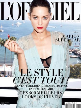 L'Officiel, August 2009 - Marion Cotillard