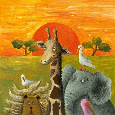 Animals in African Savanna
